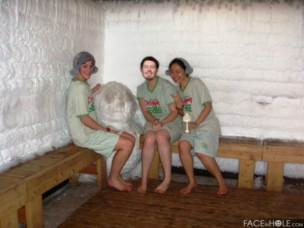 experience sauna gay